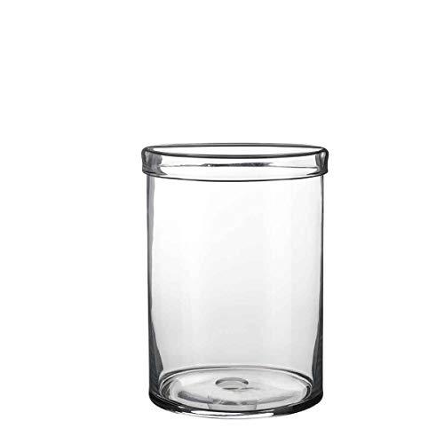 Casa Vivante Vaas Dante glas - 33 x Ø 24 cm