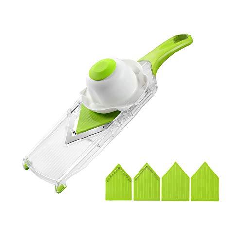 TIAN HENG XIN Mandoline Slicer kitchen gadgets Veggie Slicer 4-in-1 V Slicer Mandoline Cutter Vegetable Cutter Best For Slicing Food, Fruit and Vegetables