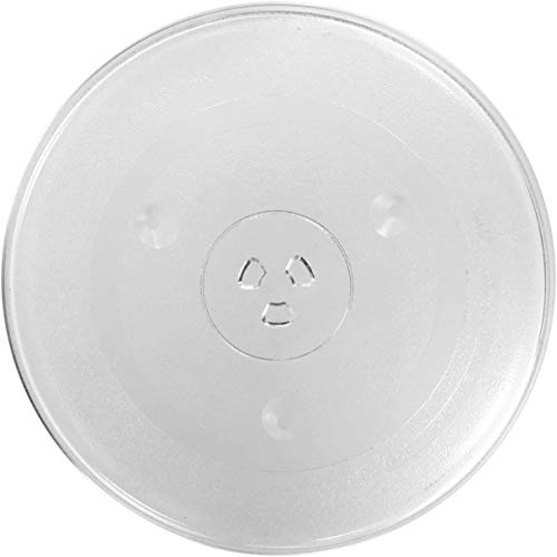 Spares2go Universal Glass Turntable Plate for Microwave Ovens (315mm)