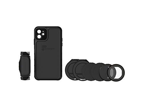 PolarPro LiteChaser Pro Visionary - Kit de visión para iPhone 11 (Incluye Funda, Mango, Filtro polarizador y Filtro VND IPHN11-VISN