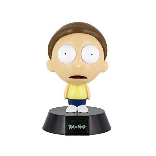 Paladone Mini Lampara Rick and 3D Morty, multi
