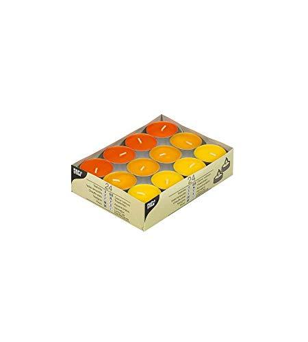 24 Teelichte Ø 38 mm · 16 mm