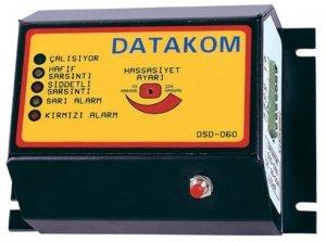 DATAKOM DSD-060 Detector terremoto de parada con sensor de actividad sismica