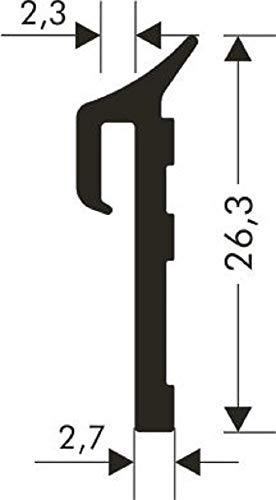 Fensterbankdichtung Anschlussprofil für Aluminium Fensterbank SD-4000