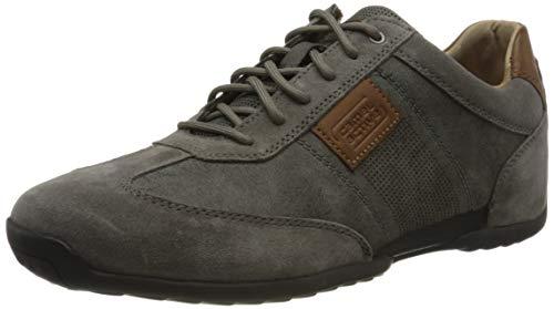 camel active Herren Space Sneaker, Grau (dk.grey/anthracite 01), 42 EU