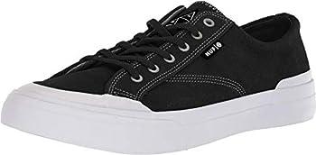 HUF Men s Classic LO Skate Shoe Black/Bone 4 M US
