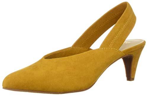 BC Footwear Damen Liter, Mustard V-Suede, 38 EU