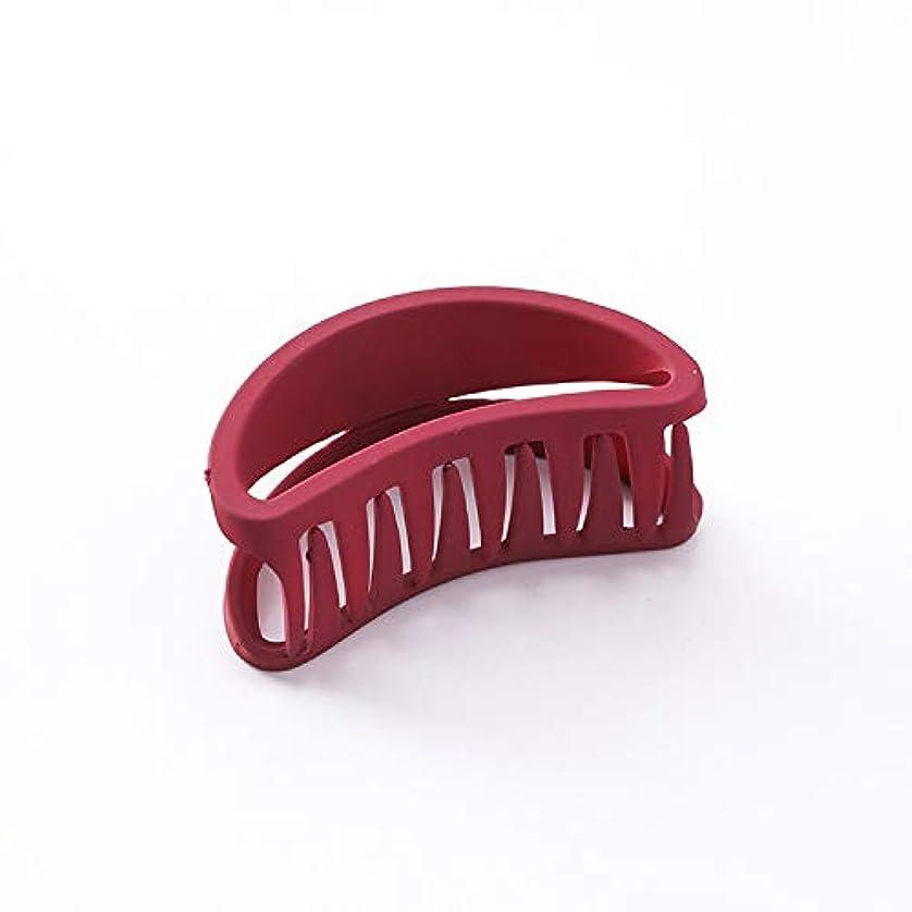 依存するスキルガレージHuaQingPiJu-JP 1Pc DIYマジックヘア女性の女の子ヘアピンヘアクリップディナーパーティーヘアスタイリングツールアクセサリー(レッド)