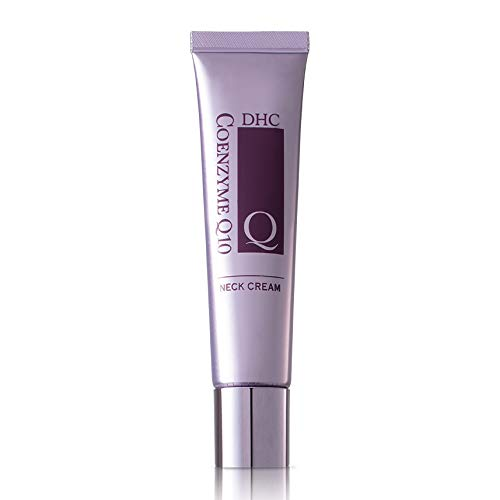 DHC CoQ10 Neck Cream, Firming and Toning Moisturizer for Neck and Decolletage, Antioxidant-rich, Youthful-looking Skin, Fragrance and Colorant Free, 1.2 oz. Net wt.