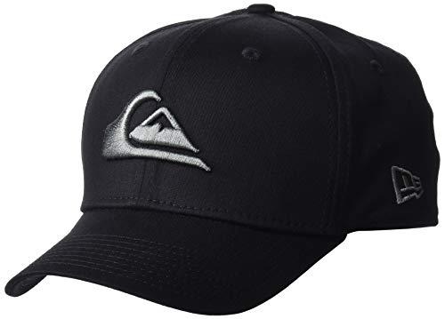 Quiksilver Herren Mountain & Wave Baseball Cap, Schwarz (Sleet SZP0), Small (Herstellergröße: S/M)