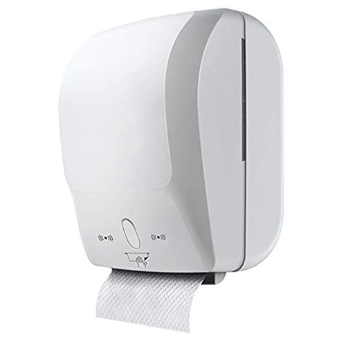 N\C Dispensador de Rollo de Toallas de Mano con Sensor de intuición, dispensación de uno a uno sin Contacto LKWK