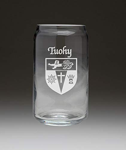 Tuohy Irish Coat Charlotte Mall of Arms Beer security Glass - Set Can 4