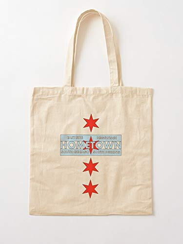 Atarahavenue Hegewisch East Deering Hometown Chicago South Side Canvas Tote Umhängetasche Stylish Shopping Casual Bag Faltbare Reisetasche