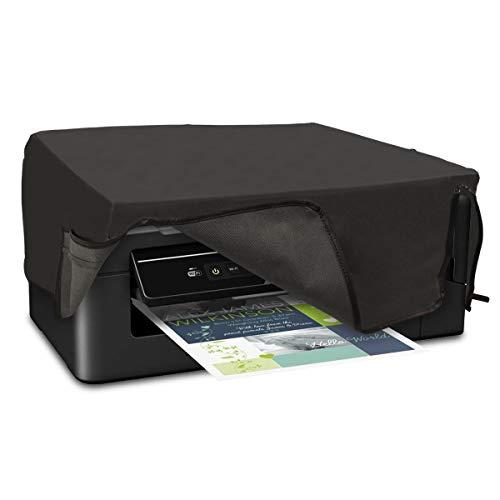 kwmobile Hülle kompatibel mit Epson EcoTank ET-2600/2650 - Drucker Staubschutzhülle Schutzhaube Schutzhülle - Dunkelgrau