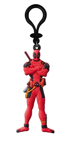 Marvel Deadpool Soft Touch PVC Key Ring Action Figure