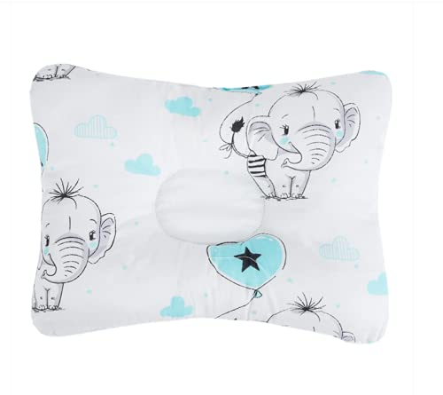 Almohada para bebés para ayudar a prevenir y tratar la plagiocefalia.Cojín de diseño ergonómico.