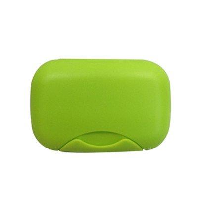 OUNONA 2/Piezas Jabonera de Viaje Caja para jab/ón de Ducha Impermeable casa Outdoor Viajes Verde