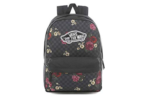 Vans Realm Backpack Zaini Donne Nero/Multicolore - Unica - Zaini