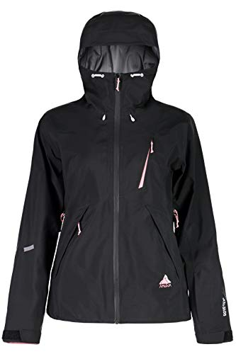 Maloja StradaM Gore Tex High End Winter Jacke Damen Snowjacket 26101 L schwarz Moonless