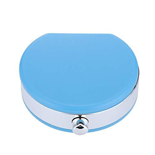 Kontaktlinsenbehälter, Mini-Kontaktlinsenhalter Augenpflege Linsen-Koffer-Set Cute Lovely Travel Kit Box (Blau)