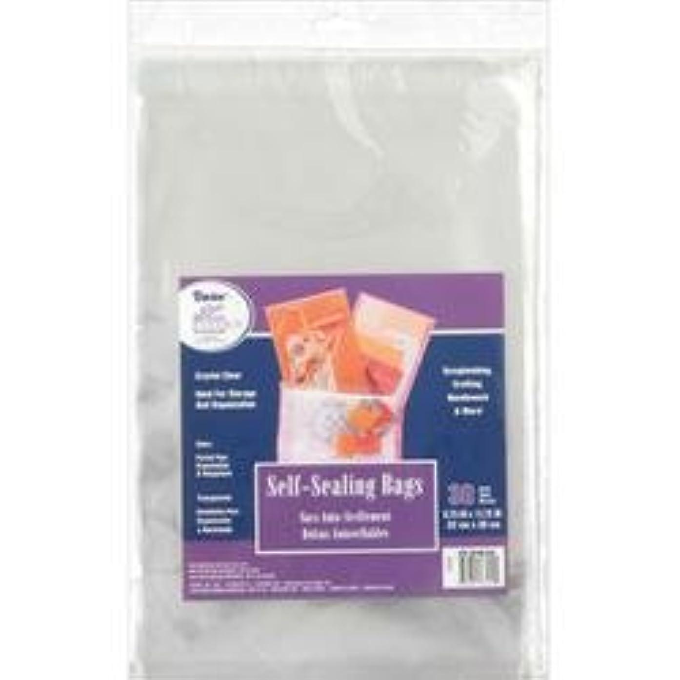 Bulk Buy: Darice Self Sealing Transparent Bags 8 3/4