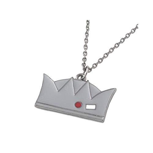 Odoukey Riverdale Merchandise Metallhalsketten-Kronen-Anhänger Classic Movie Props Riverdale Jughead Halskette Schmuck Geschenk für Mann-Frauen 1PC