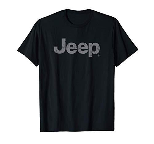 Jeep Iconic Distressed Logo T-Shirt