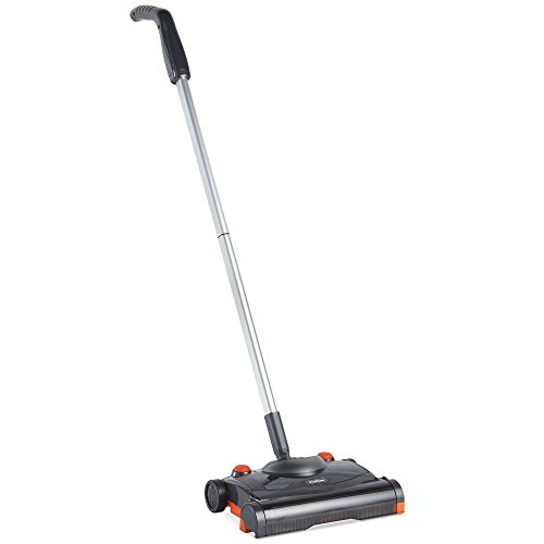 VonHaus Electric Hard Floor Sweeper - Cordless/Wireless Rechargeable Floor Sweeper/Broom with...