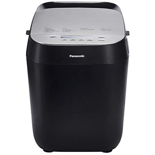 Panasonic Panificadora SD-ZD2010 (máquina de panificadora Croustina, 18 programas, panificadora sin gluten, ganadora de pruebas 2018), color negro
