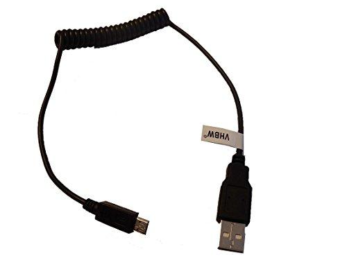 vhbw USB Kabel auf Micro USB flexibel passend für Sony SmartBand SWR10.