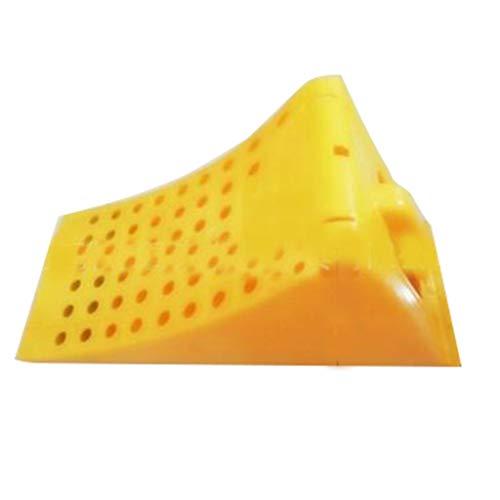 Buffer-Feng Kunststoffmatte, Fahrradrad feststehende gelbe reflektierende Bremse (größe : 48 * 22.5 * 19.5CM)