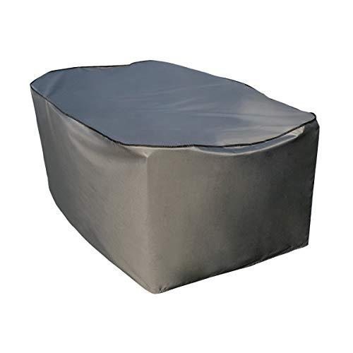 SORARA Copertura Protettiva Tavolo Rettangolare, Grigio, 160x90x70