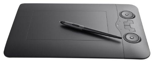 Perixx PERITAB-503Bravod, Pen Tableta grafica sin pilas - 2 Rueda de navegacion con Zoom In / Out y 3D Control de Flip - 5080LPI - Compatible con Windows y Mac OS X