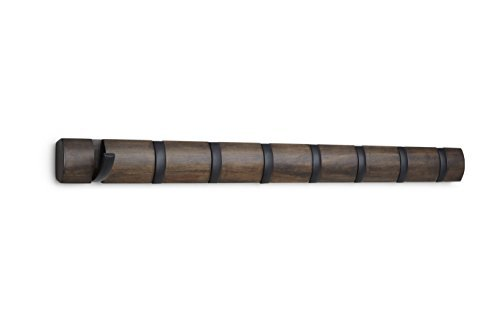 Umbra Flip Appendino, Noce/Nero, 81.28 x 6.8 x 3.302 cm
