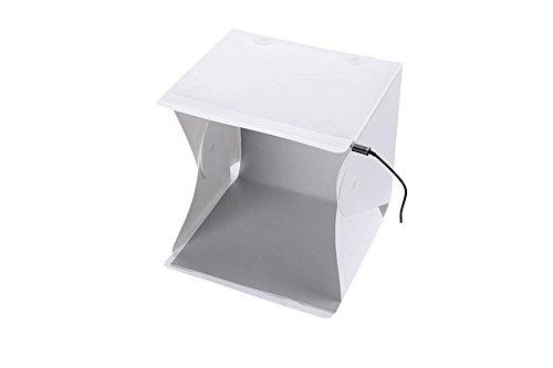 Fotografie Studio Pop-up Licht Tent met 4 Achtergronden | PhotoGeeks Shooting Box Kubus Diffuser | Product Fotografie | Verkrijgbaar in de maten 40cm, 60cm, 90cm, 100cm, 120cm en 150cm, 25cm LED