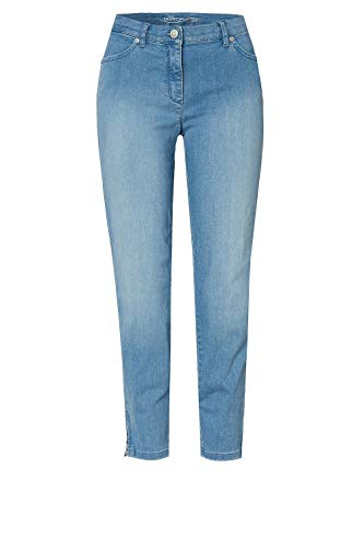 TONI Damen 7/8-Jeans »Perfect Shape« mit Saumzippern 44 Bleached