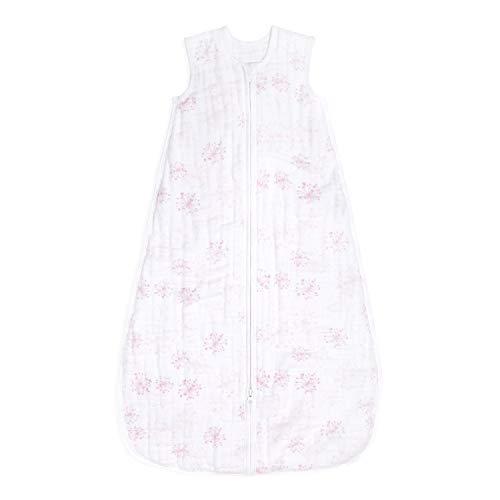 aden + anais ASMC10008 aden + anais™ mehrlagiger Schlafsack für die Übergangszeit 1,5 TOG Lovely Reverie (6-18 Monate), , rosa