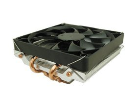 Gelid SlimHero - Ventilador de PC (Enfriador, Procesador, 12 cm, Negro, Plata, 0,35m, 0,2A)