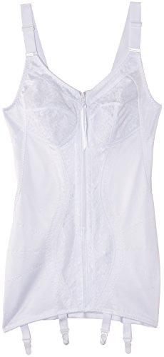 Naturana Damen Schalen Formender Body Corselette, Weiß, 90E (Herstellergröße: 40DD)