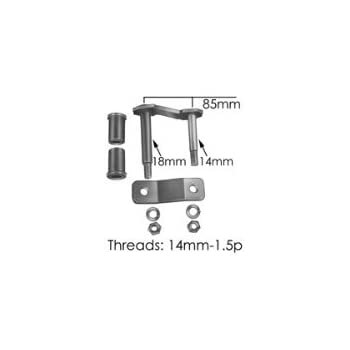 TS005 Rear of Rear Leaf Spring Shackle Kit for Toyota Tacoma 4wd (1995-2004)