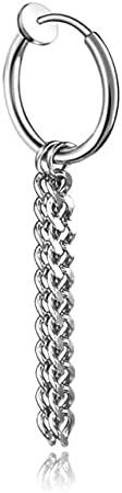 1pcs Stainless Steel Clip On Earrings for Women and Men Fashion No Ear Hole Earring Trendy Simple Style Clip Korean Earrings