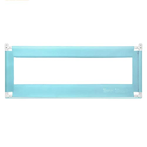 Barrières de lit LHA Rampe de Levage Verticale de déflecteur de de barrière latérale de lit Grande (Couleur : Green, Taille : L-180cm)