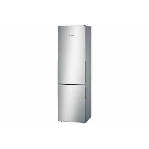 Bosch KGE39BL41 Koel- en vriescombinatie van roestvrij staal, 250 liter, energielabel A+++