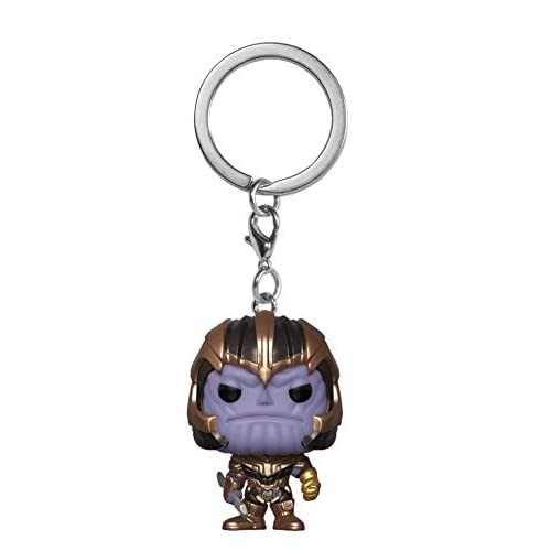 Funko- Portachiavi Pop: Avengers Endgame: Thanos Collectible Figure, Multicolore, 36680