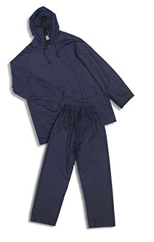 Eskubi Traje de Agua de Poliuretano, Conjunto de Trabajo para Hombre, Azul (Marino), X-Large(Tamaño del fabricante:XL)