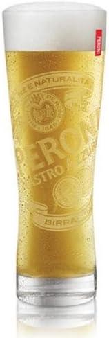 Peroni Italian Rare Beer Glasses 0.4L 6 100% quality warranty! - Set of