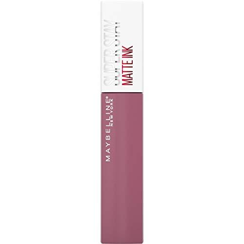 Maybelline New York Super Stay Matte Ink Lippenstift, hochpigmentierte Farbe, flüssige Textur, 16 Stunden Halt, präziser Applikator, Nr. 180 Revolutionary