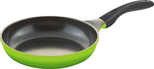 Culinario Sartén de inducción con superficie de cerámica ecológica Ecolon (24 cm), color verde