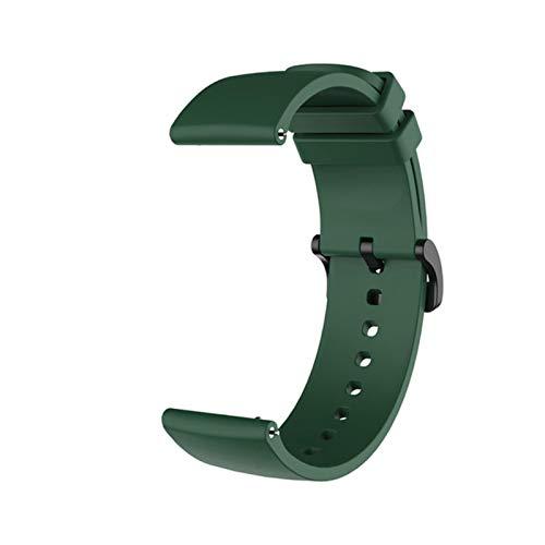 Correa de muñeca de silicona para Xiaomi Huami Amazfit GTR 42MM GTS Accesorios de pulsera en My para Xiomi Mi Smart Watch Band Correas de cuero