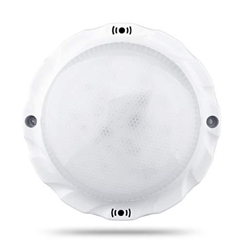 Morninganswer Lámpara de Techo LED con Sensor de Movimiento para el hogar Compacto, lámpara de Techo con Control de Sonidos duraderos, lámpara de inducción Humana con Radar